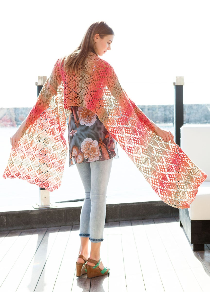 Lana Grossa SHAWL Summer Lace Degradé