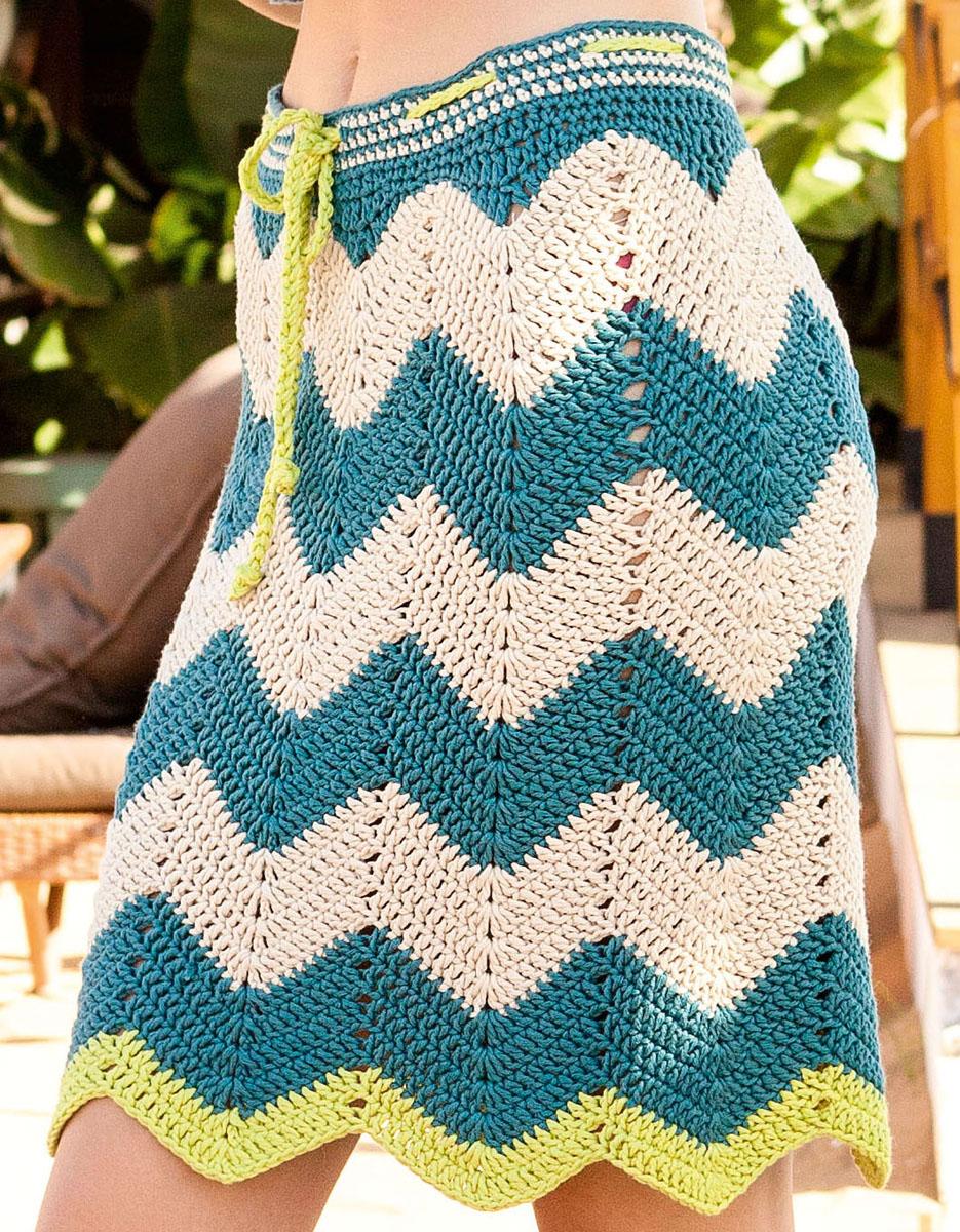 Lana Grossa SKIRT Organico | FILATI Handstrick No. 69 - Design 16 ...