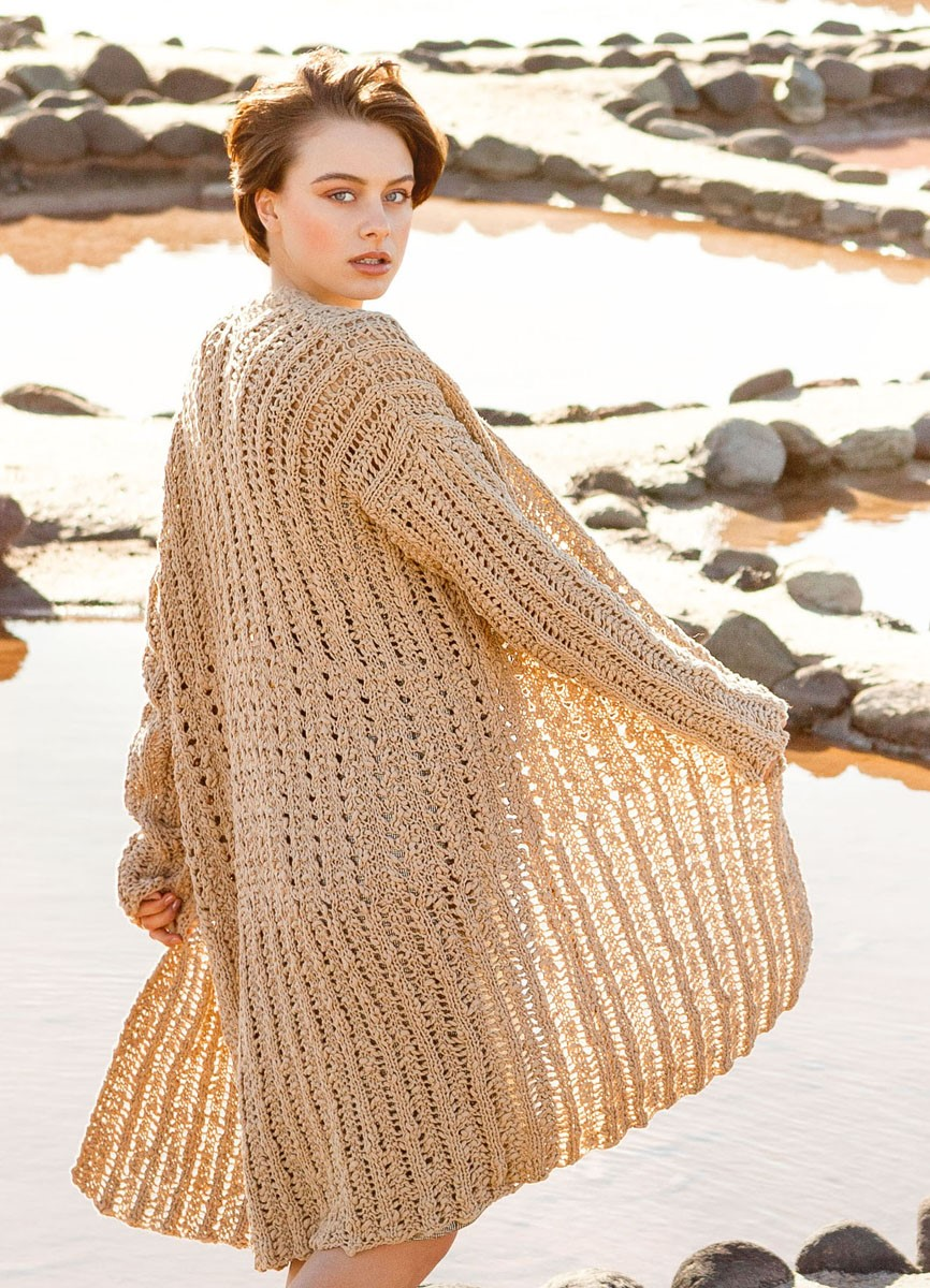 Lana Grossa JACKET Cotton Style