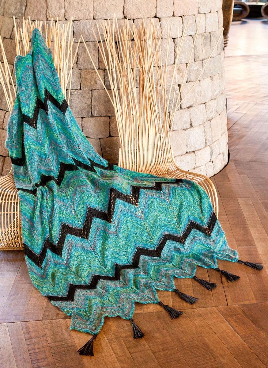 Lana Grossa THROW Ecopuno/Silkhair Print/Linarte/Alcanto