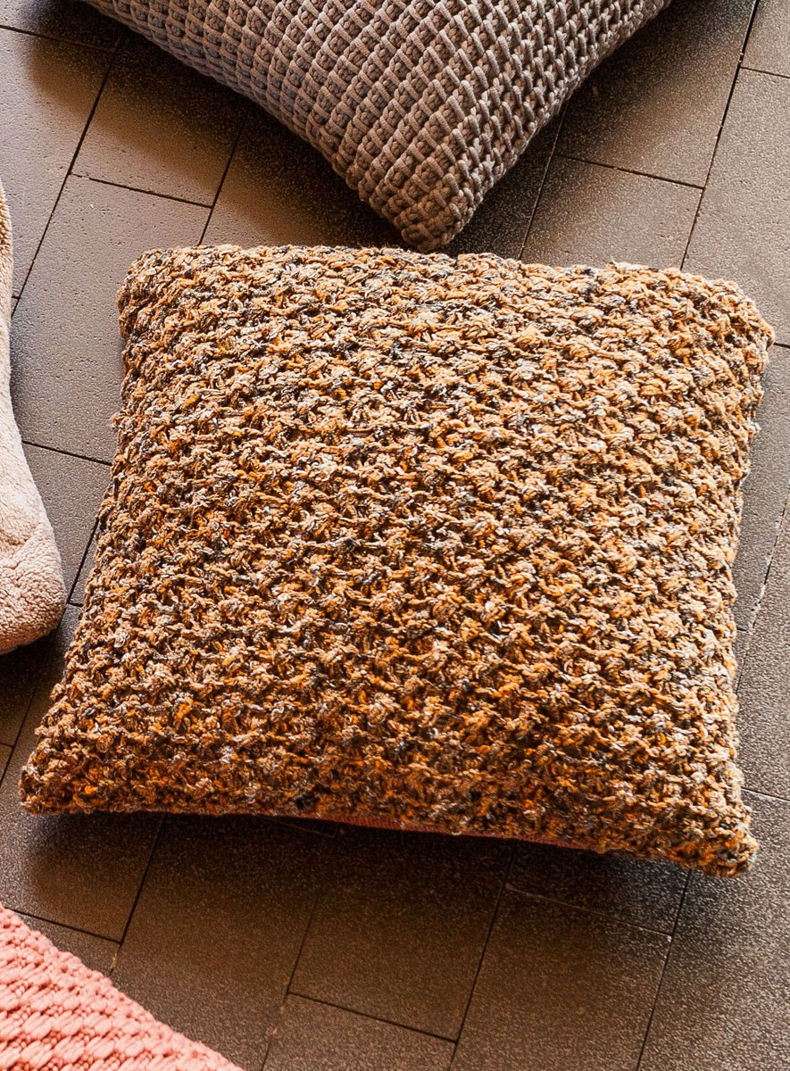 Lana Grossa PILLOW COVER Cocco/Ombra