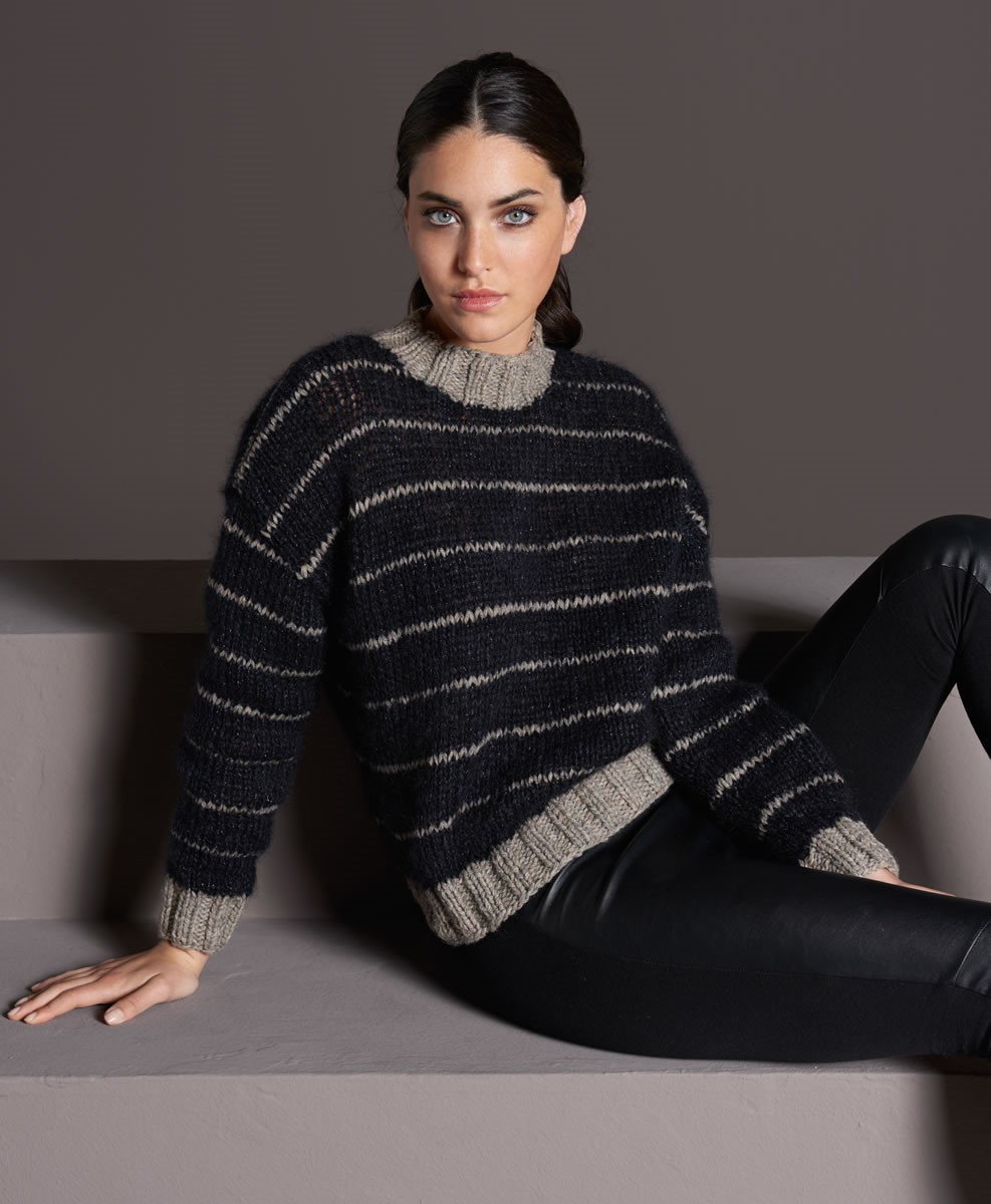 Lana Grossa PULLOVER Alta Moda Alpaca/Splendid/Silkhair