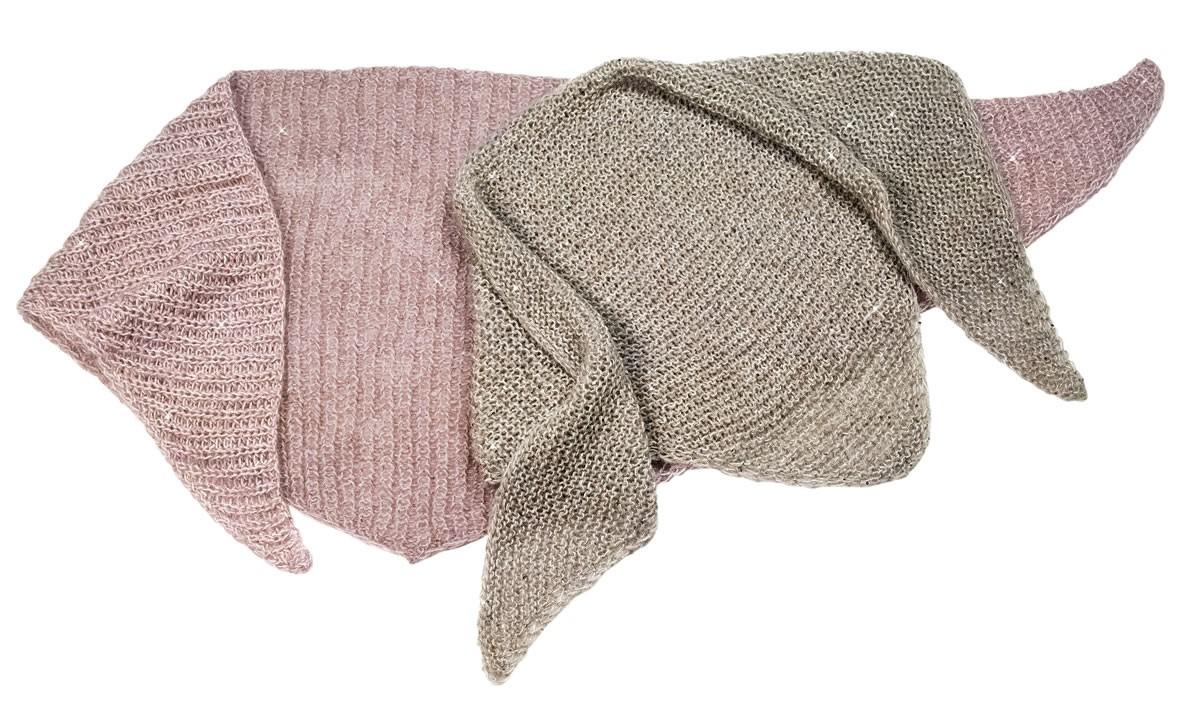 Lana Grossa SHAWL Lace Paillettes/Silkhair