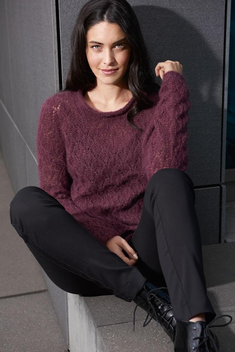 Lana grossa pullover splendid filati no 50 herbst winter 2015 16 design 81 filati - Lana grossa diva ...