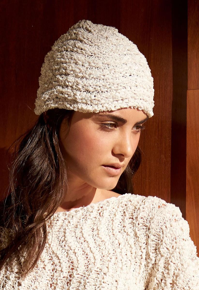 Lana Grossa HAT IN WAVE PATTERN Fiore /Secondo