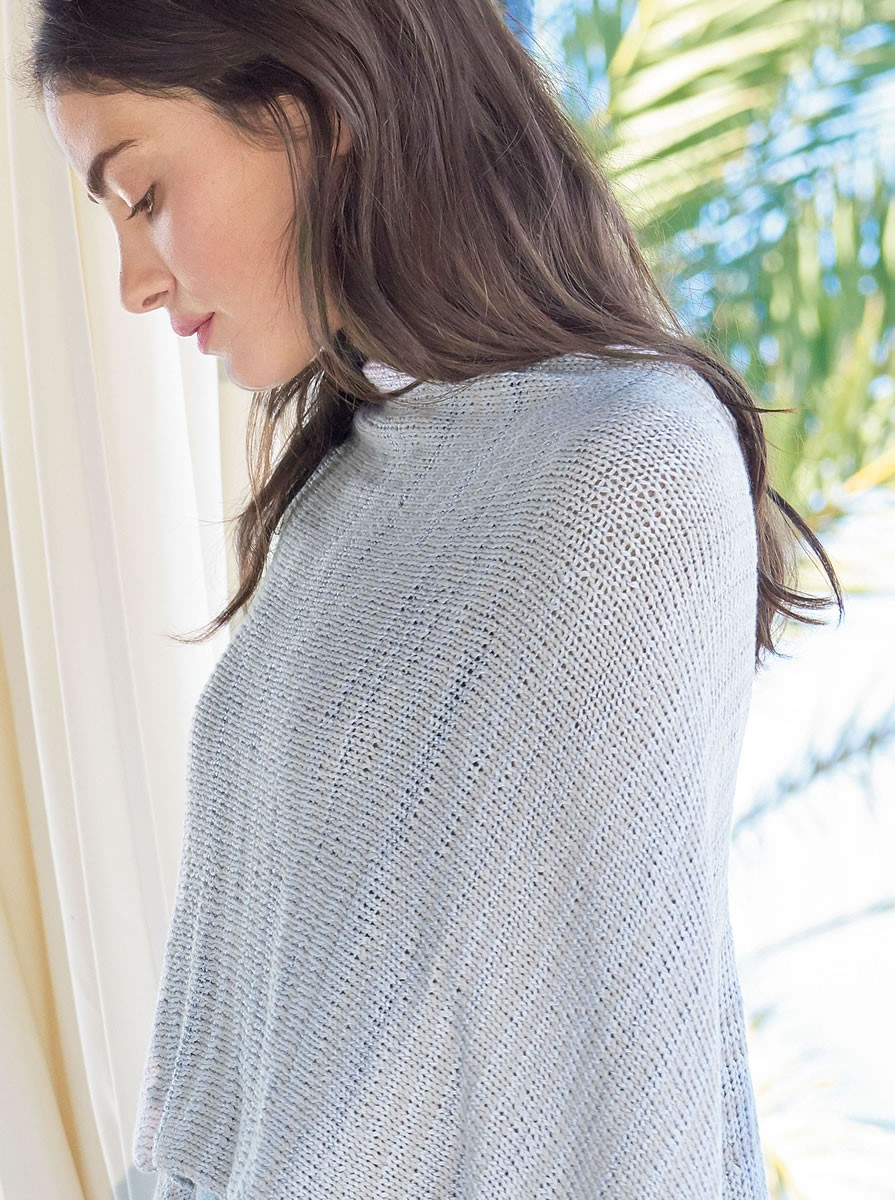 Lana Grossa STOCKINETTE PONCHO Allegro Unito