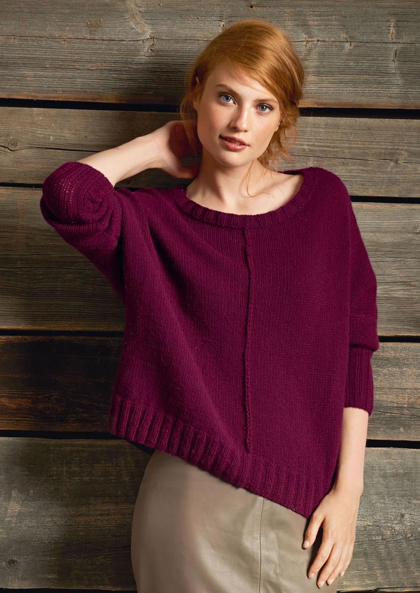 lana grossa pullover 100 cashmere fine filati no 52 herbst winter 2016 17 design 10. Black Bedroom Furniture Sets. Home Design Ideas