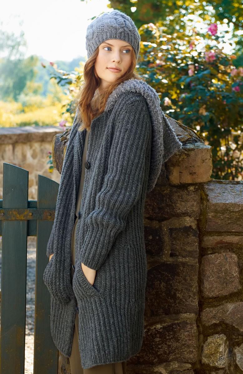 Lana Grossa Coat Alta Moda Cashmere 16/Scala