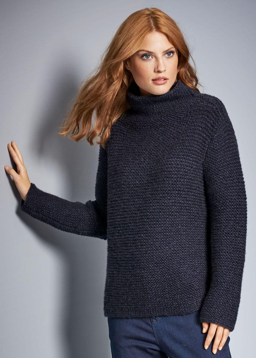 Lana grossa pullover alta moda cashmere 16 filati no 52 fall winter 2016 17 knitting - Lana grossa diva ...