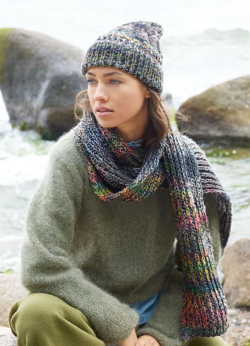 Lana Grossa SCARF Gomitolo 200/Cool Wool