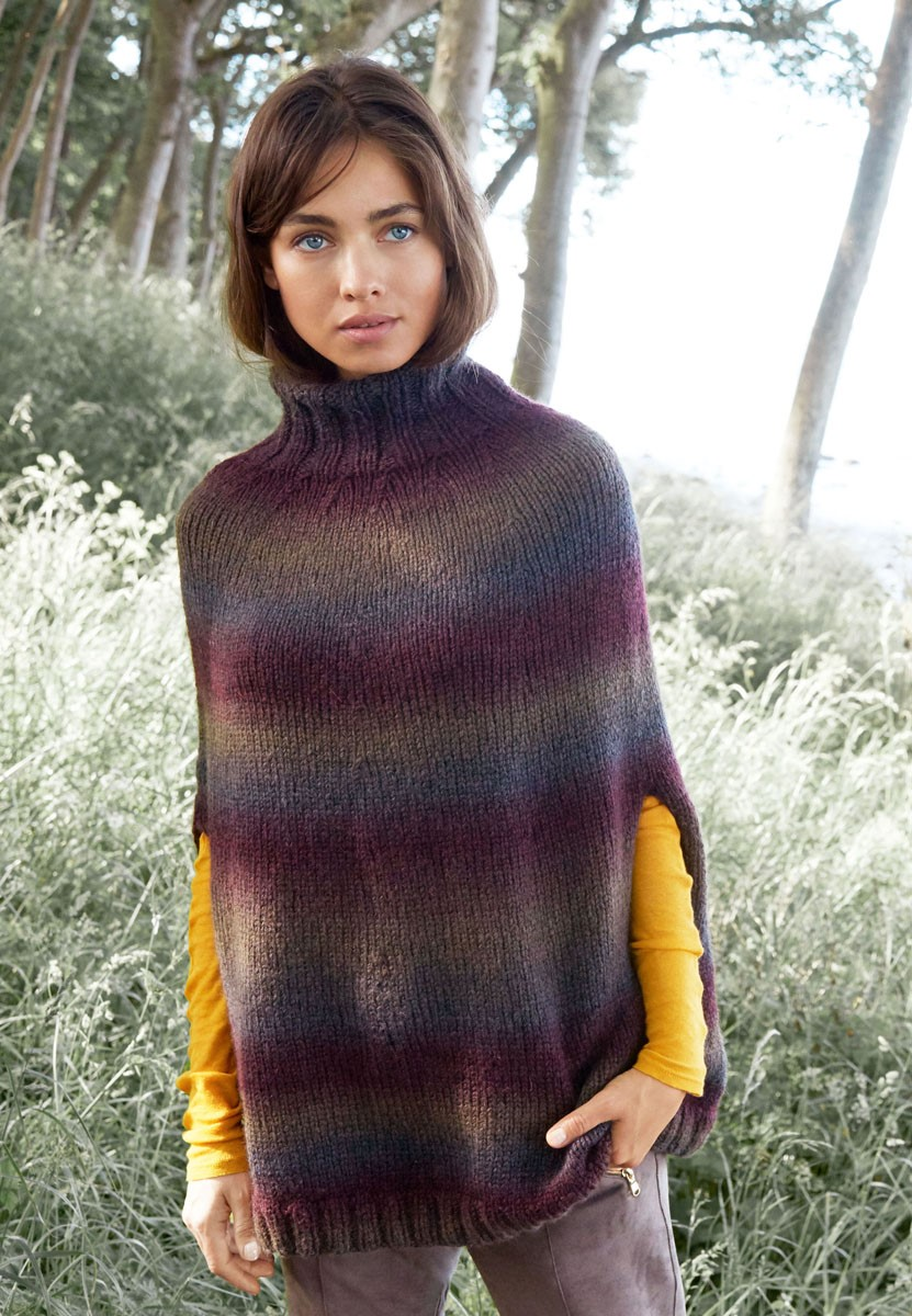 Lana Grossa PONCHO Super Color