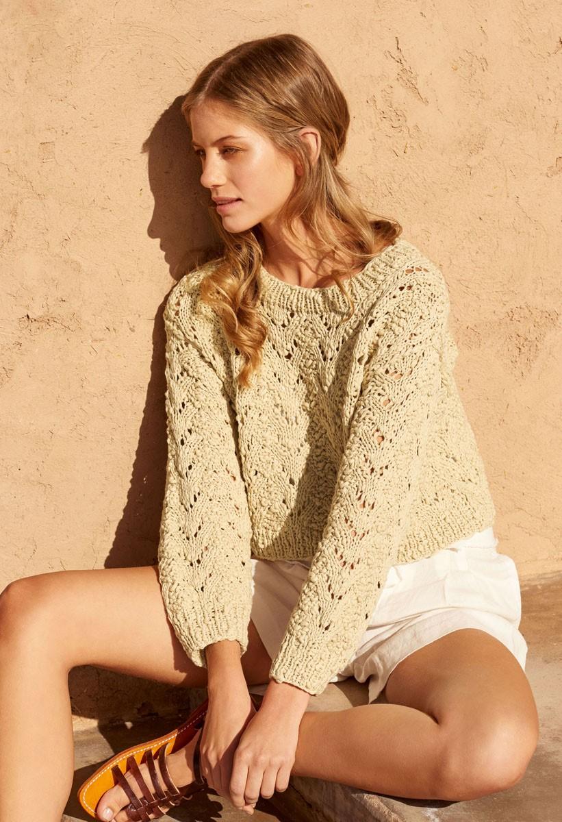 Lana Grossa PULLOVER Cotton Style