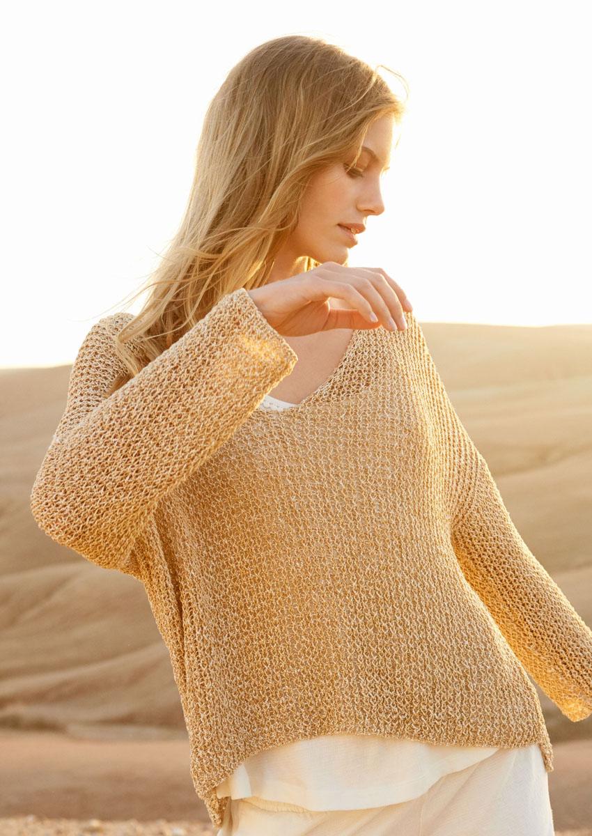 Lana Grossa PULLOVER Ombra | FILATI No. 55 - Knitting ...
