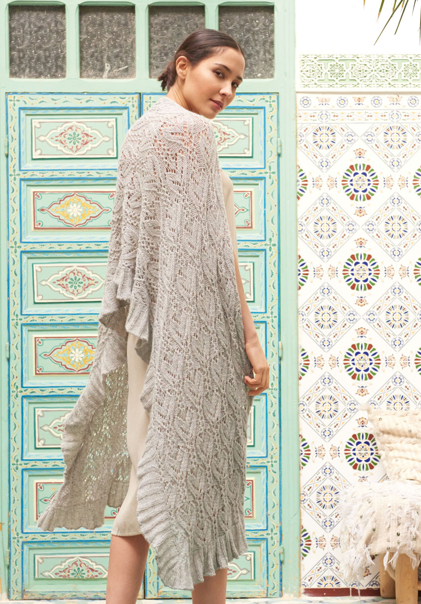 Lana Grossa SHAWL Ecopuno | FILATI No. 55 - Knitting ...