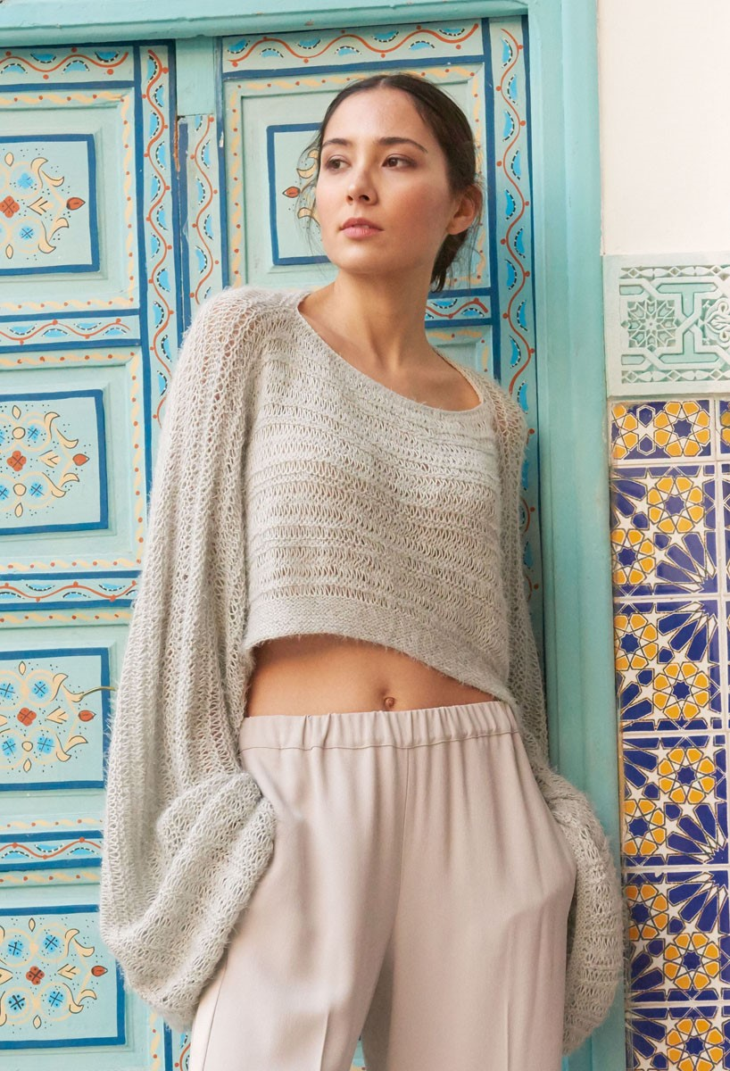 Lana Grossa PULLOVER Summer Lace/Estivo II