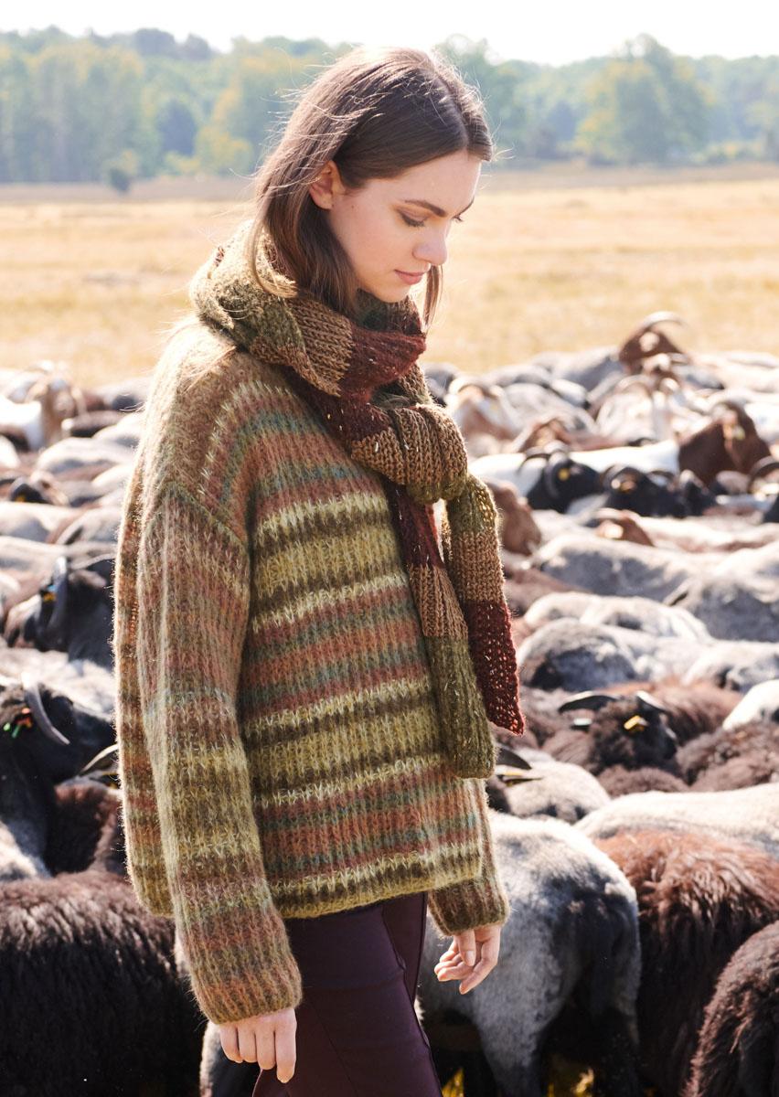 Lana Grossa PULLOVER Tutti | FILATI No. 56 - Knitting ...