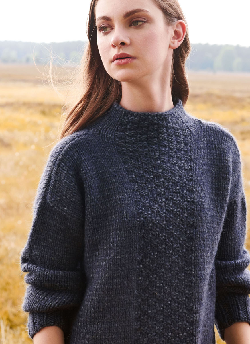 Lana Grossa PULLOVER Insieme | FILATI No. 56 - Knitting ...