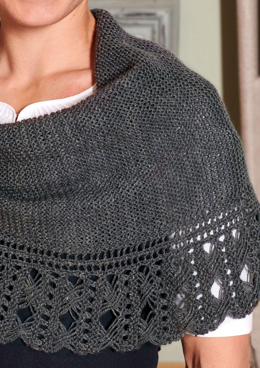 Lana Grossa SHAWL Slow Wool Lino | FILATI Trachtentrends ...