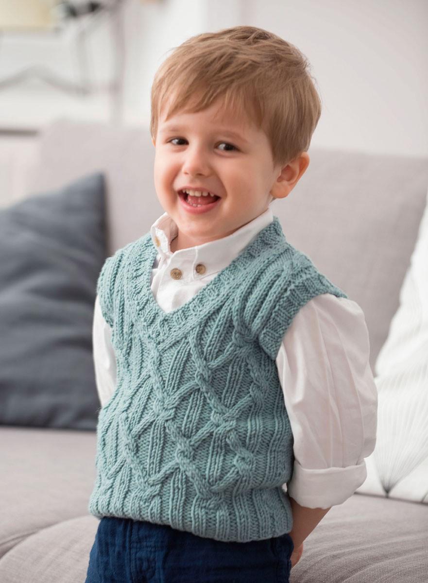 Lana Grossa VEST Cool Wool Big Melange