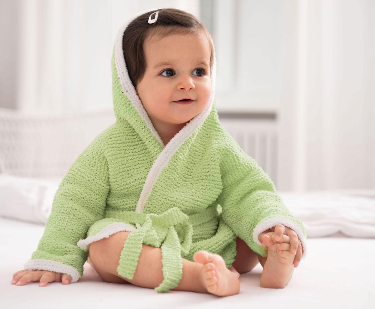 Lana Grossa BATHROBE Baby Soft