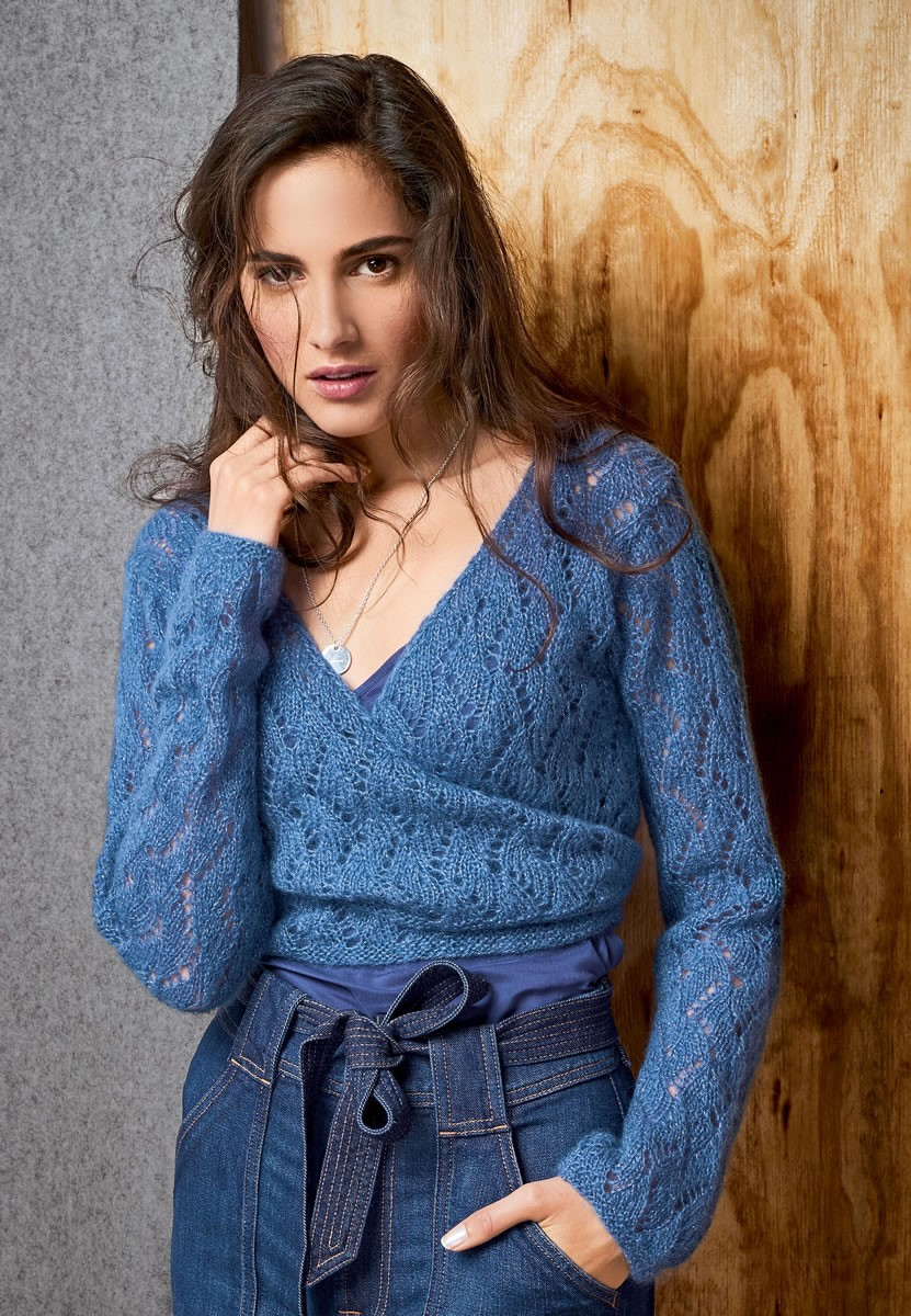 Lana Grossa WRAP CARDIGAN Splendid