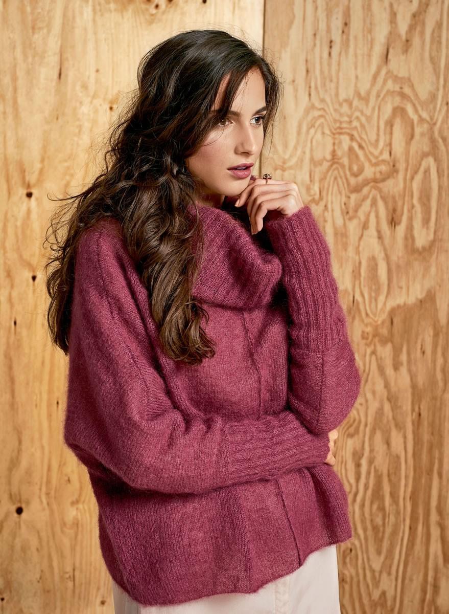 Lana Grossa PULLOVER Silkhair