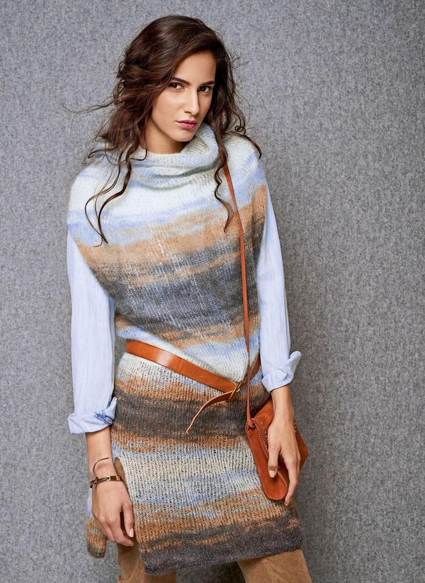 Lana Grossa TUNIC Silkhair Print