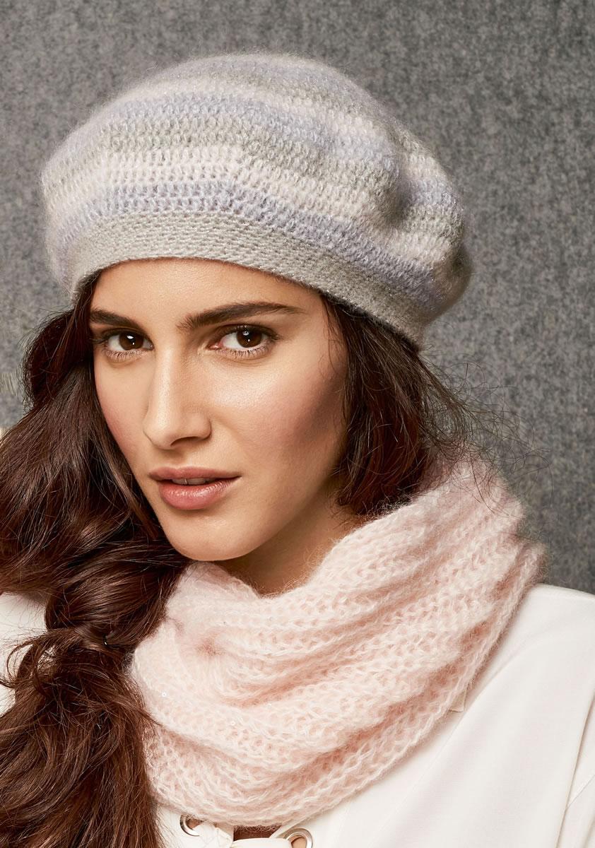 Lana grossa beret splendid lace no 6 design 12 filati lana grossa beret splendid lace no 6 design 12 filati knitting pattern model packages bankloansurffo Images