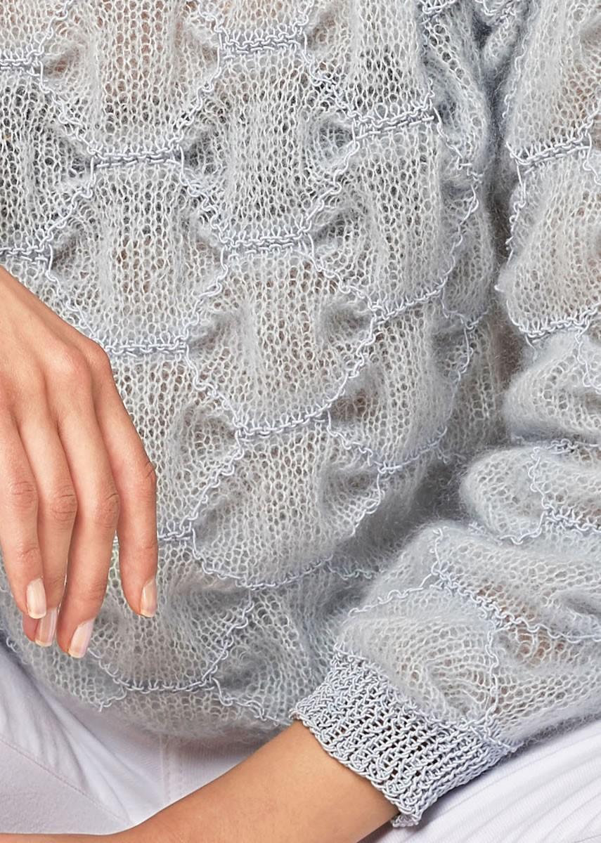 Lana Grossa PULLOVER Silkhair/Secondo
