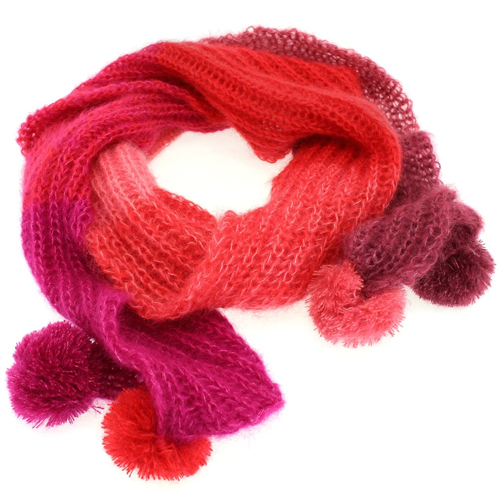 CHARITY SCARF - finished knitted | 01