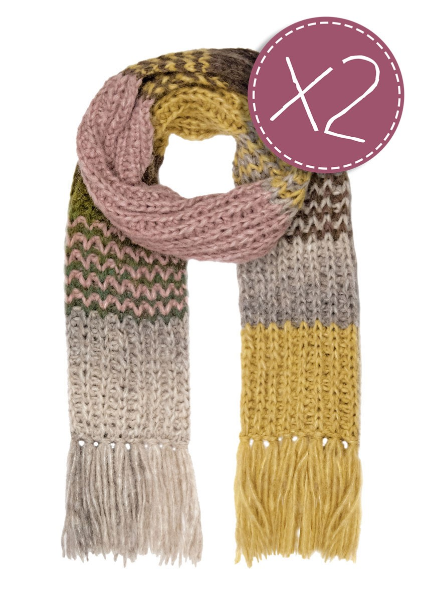 Lana Grossa A SCARF FOR LIFE 2017 - Ready knitted