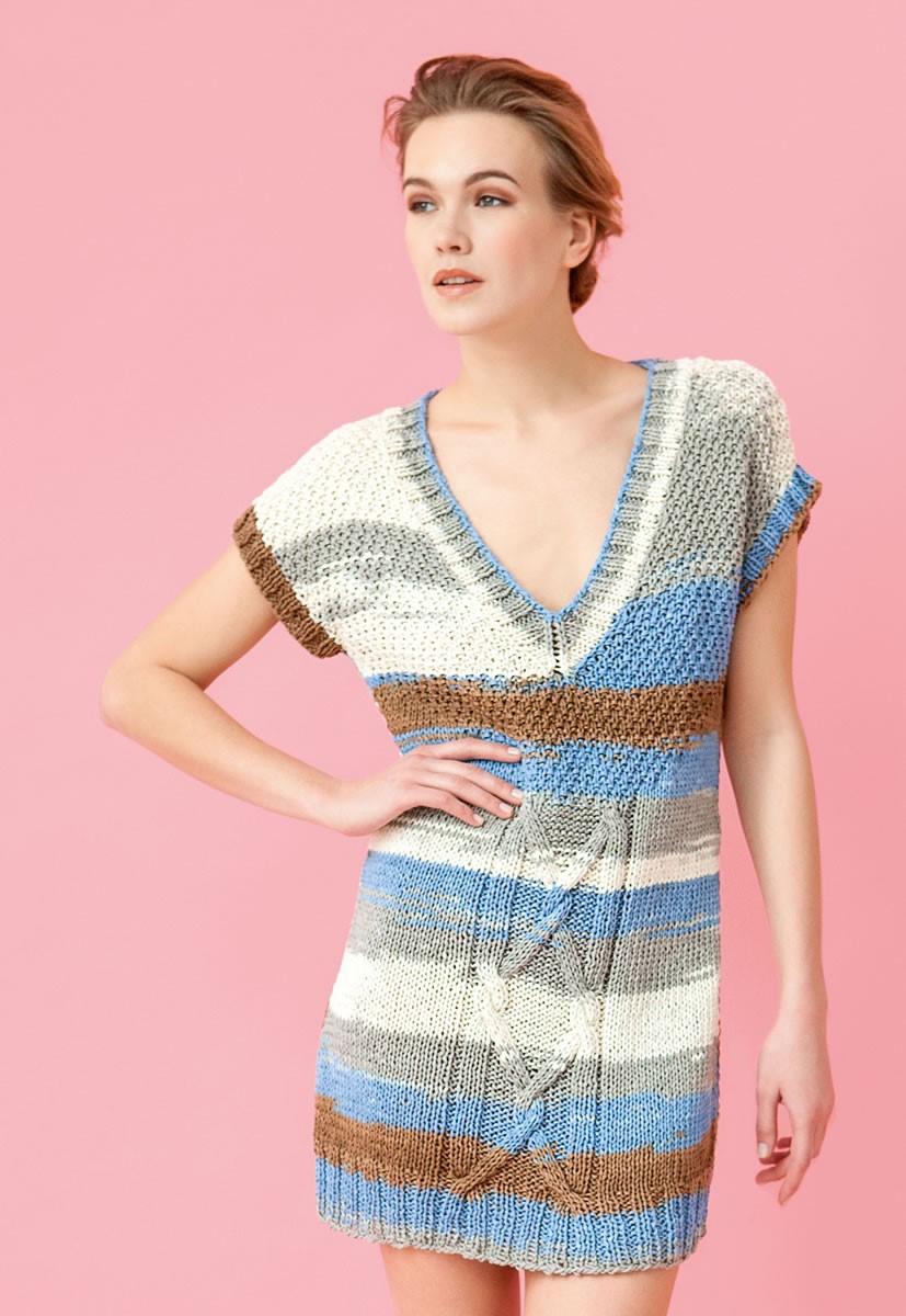 Lana Grossa DRESS/TUNIC Primavera