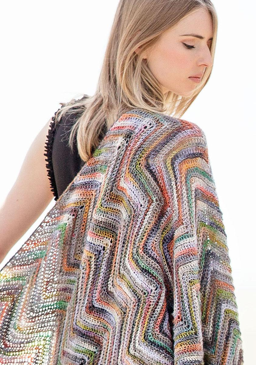 Lana grossa shawl gomitolo 200 gomitolo no 1 english edition design 17 filati knitting - Lana grossa diva ...
