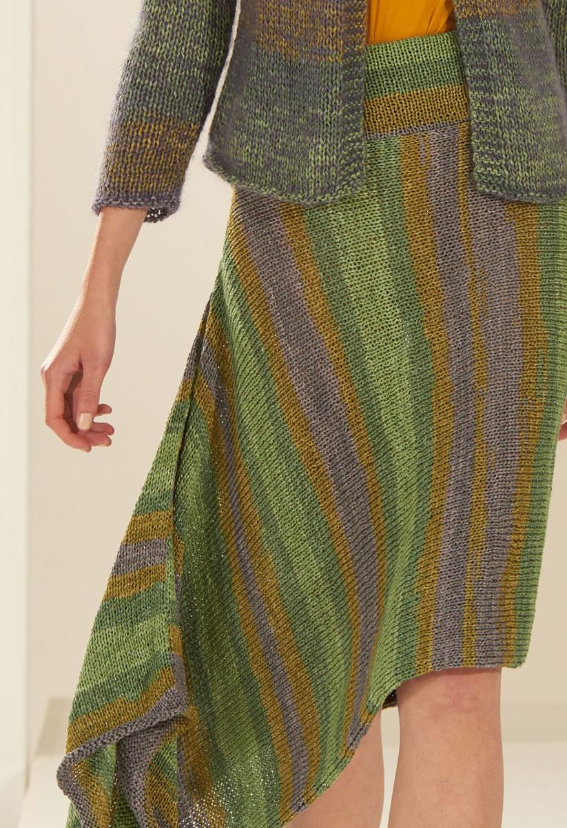 Lana Grossa SKIRT Di Moda | LOOKBOOK No. 4 - Frühjahr/Sommer 2017 ...