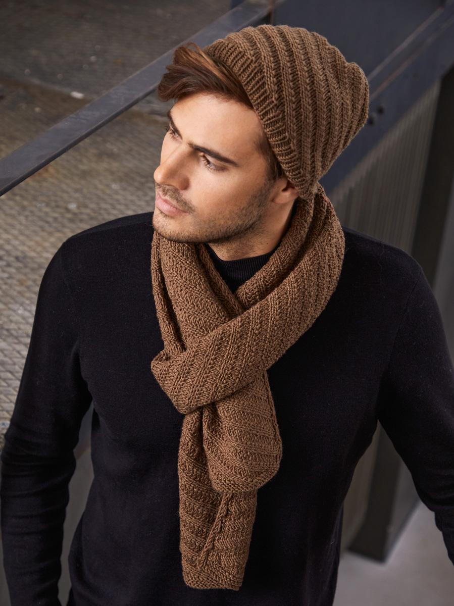 Lana Grossa MEN'S SCARF Cool Wool Big | Merino Edition No. 1 - Magazine  (DE) + Knitting instructions (EN) - Design 43 | FILATI Knitting Pattern -  Model Packages