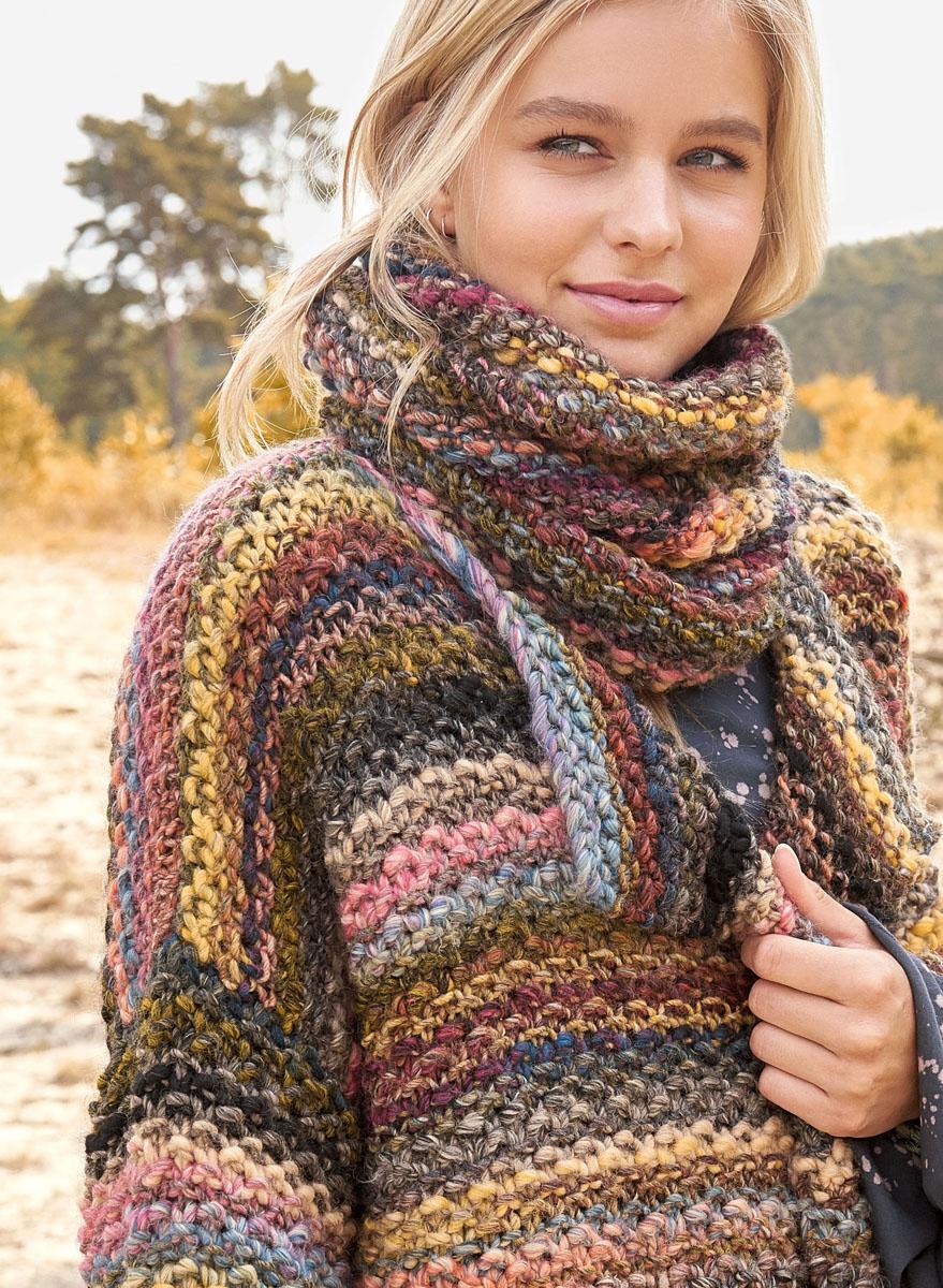 Lana grossa jacket olympia olympia booklet 2017 design 13 filati knitting pattern model - Lana grossa diva ...