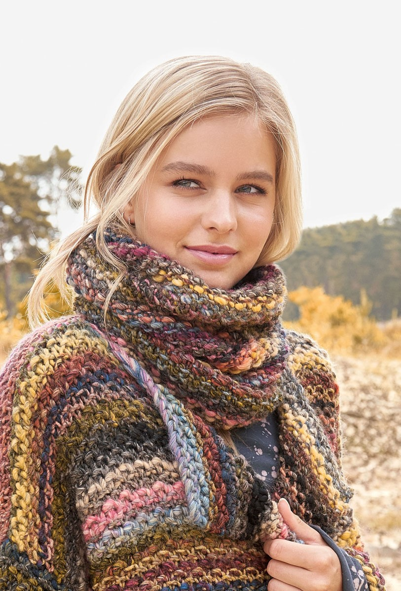 Lana Grossa NECK WARMER Olympia