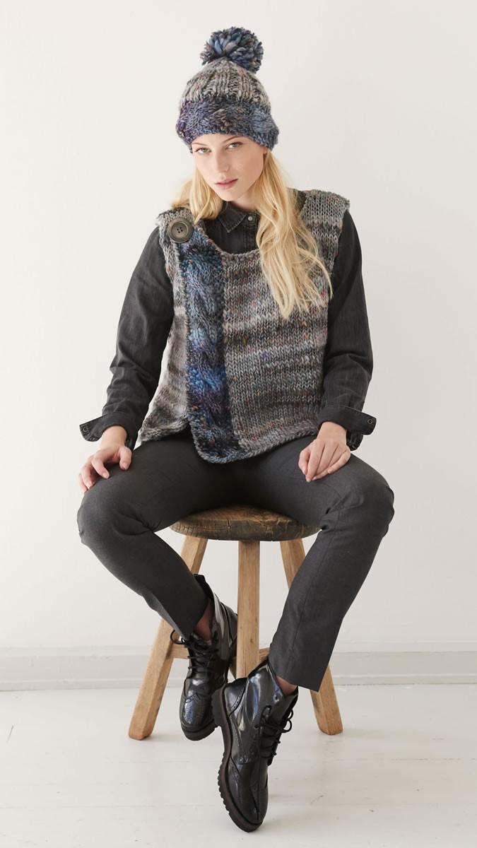 Lana Grossa VEST Olympia Tweed