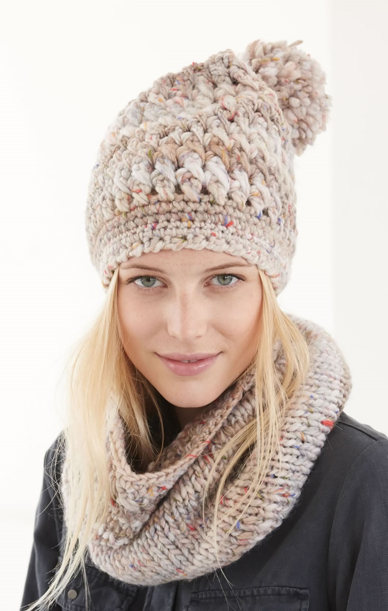 Lana Grossa LOOP and HAT Olympia Tweed