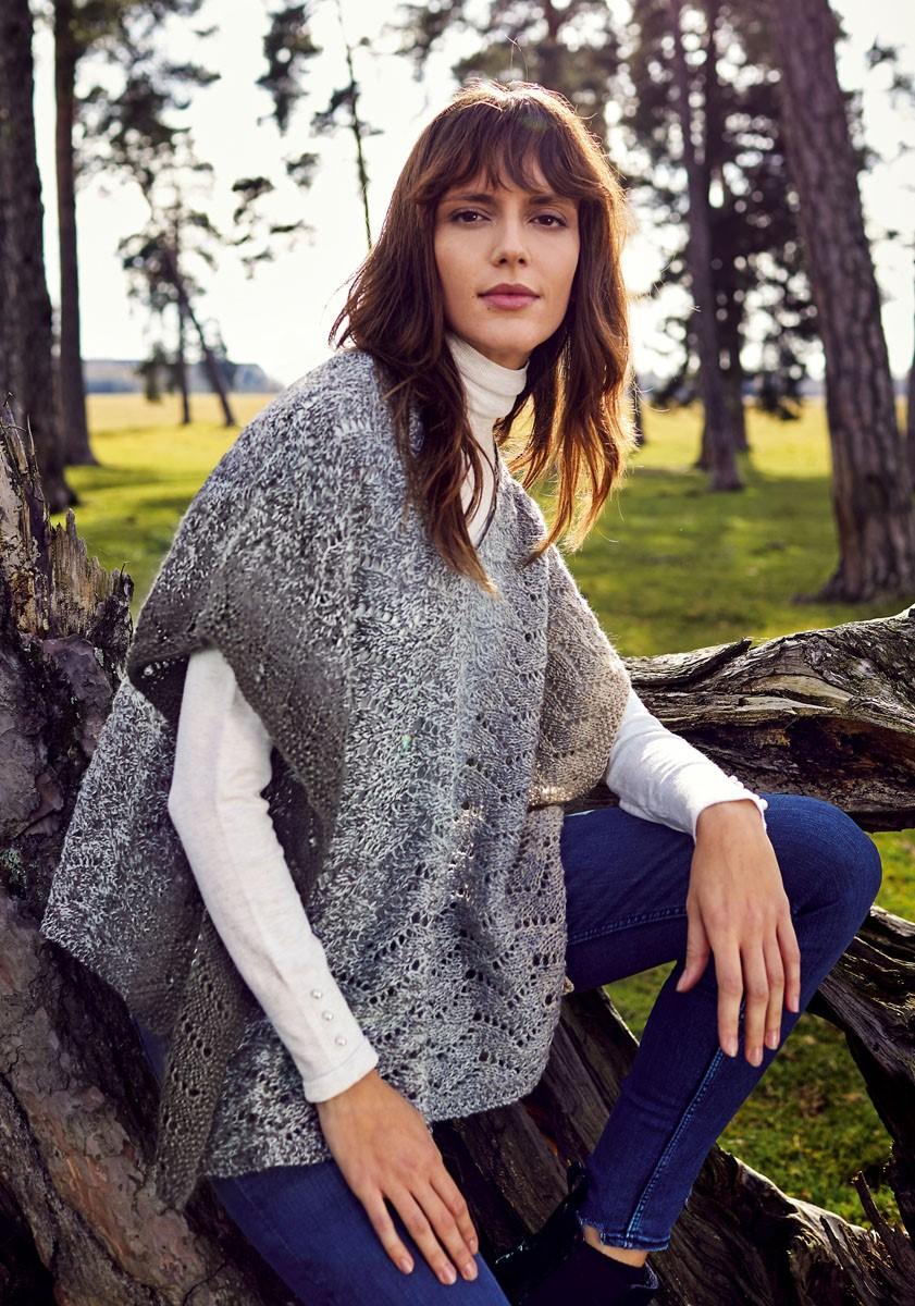 Lana Grossa WRAP/PONCHO Shades of Alpaca Silk
