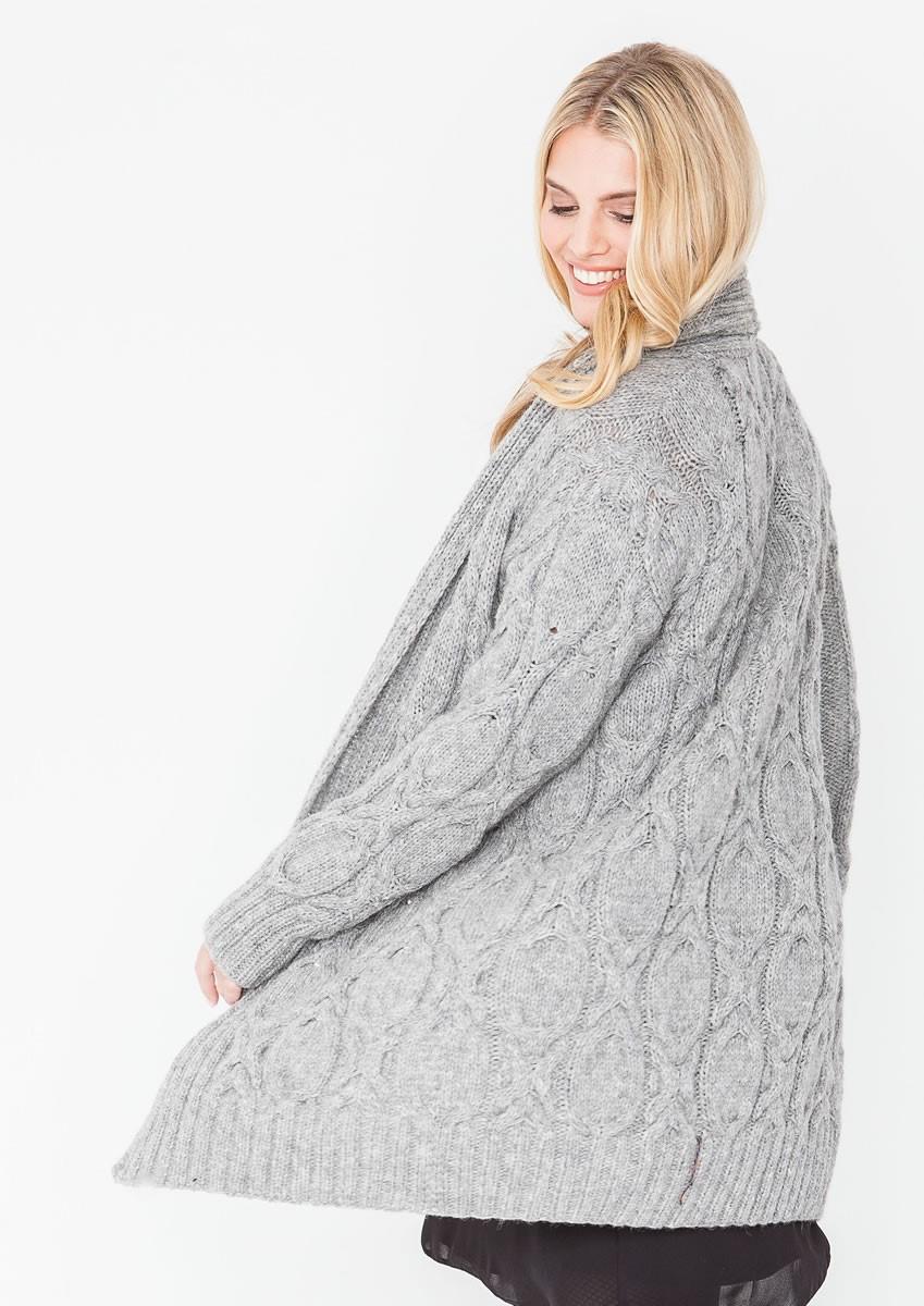 Lana Grossa JACKET Alta Moda Alpaca