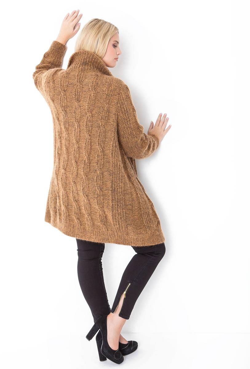 Lana Grossa CARDIGAN Cool Wool Melange/Silkhair
