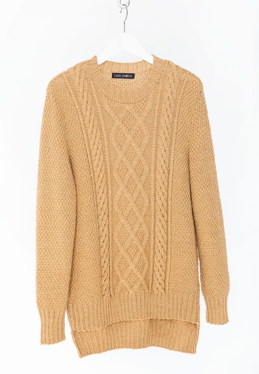 Lana Grossa PULLOVER Cool Wool Alpaca