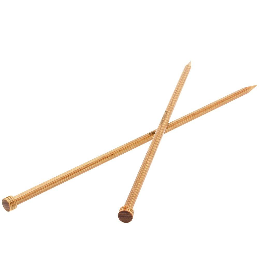 Lana Grossa Cardigan needles design-wood natural size10,0