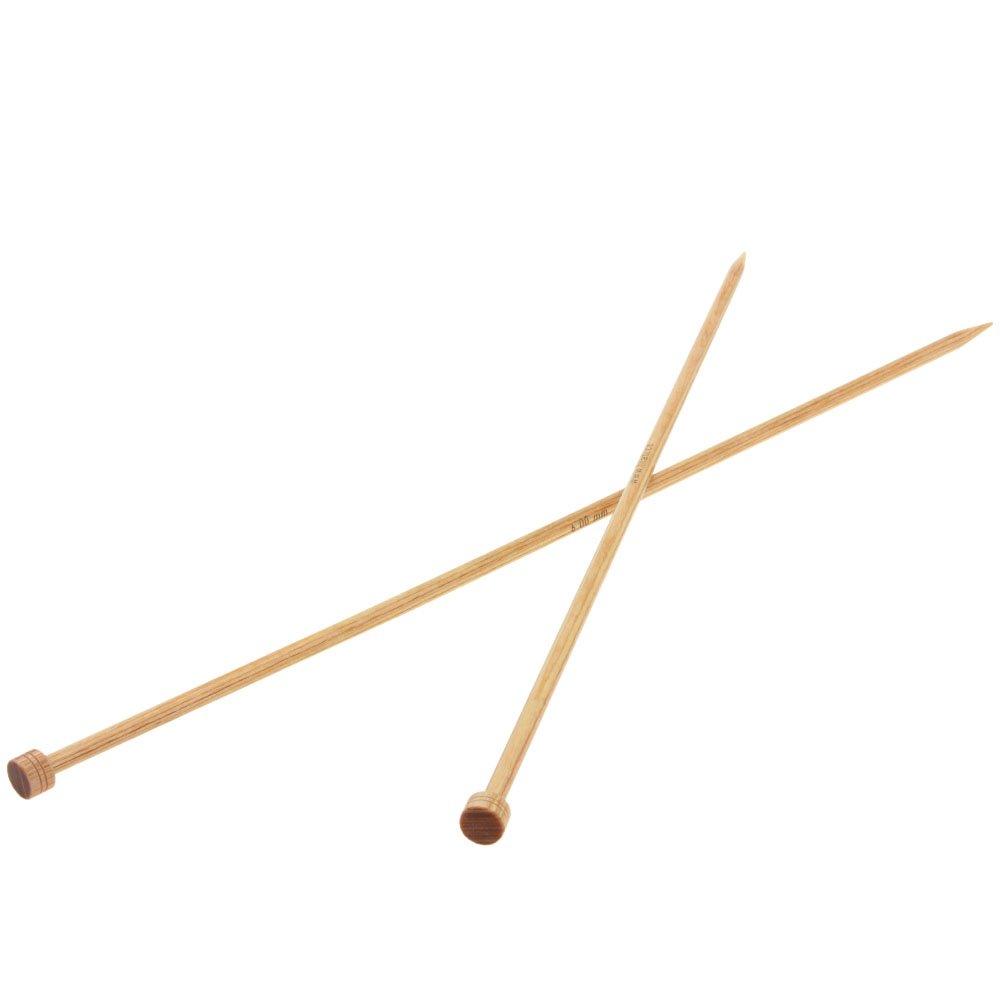 Lana Grossa Cardigan needles design-wood natural size 6,0