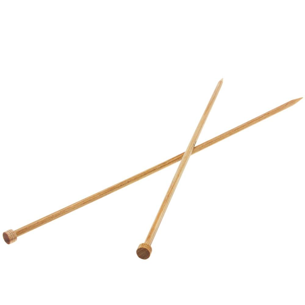 Lana Grossa Cardigan needles design-wood natural size 6,5