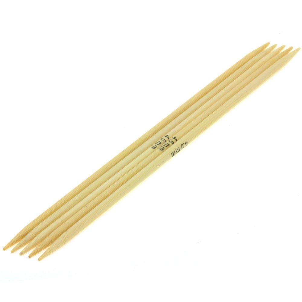 Lana Grossa Sock needles bamboo size 4,5/20cm