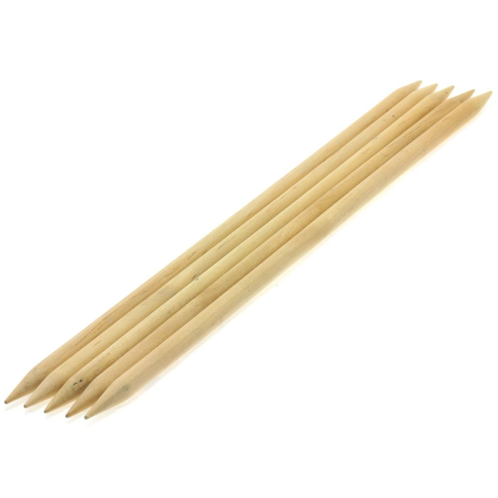 Lana Grossa Sock needles natural wood Big & Easy size 10/40cm