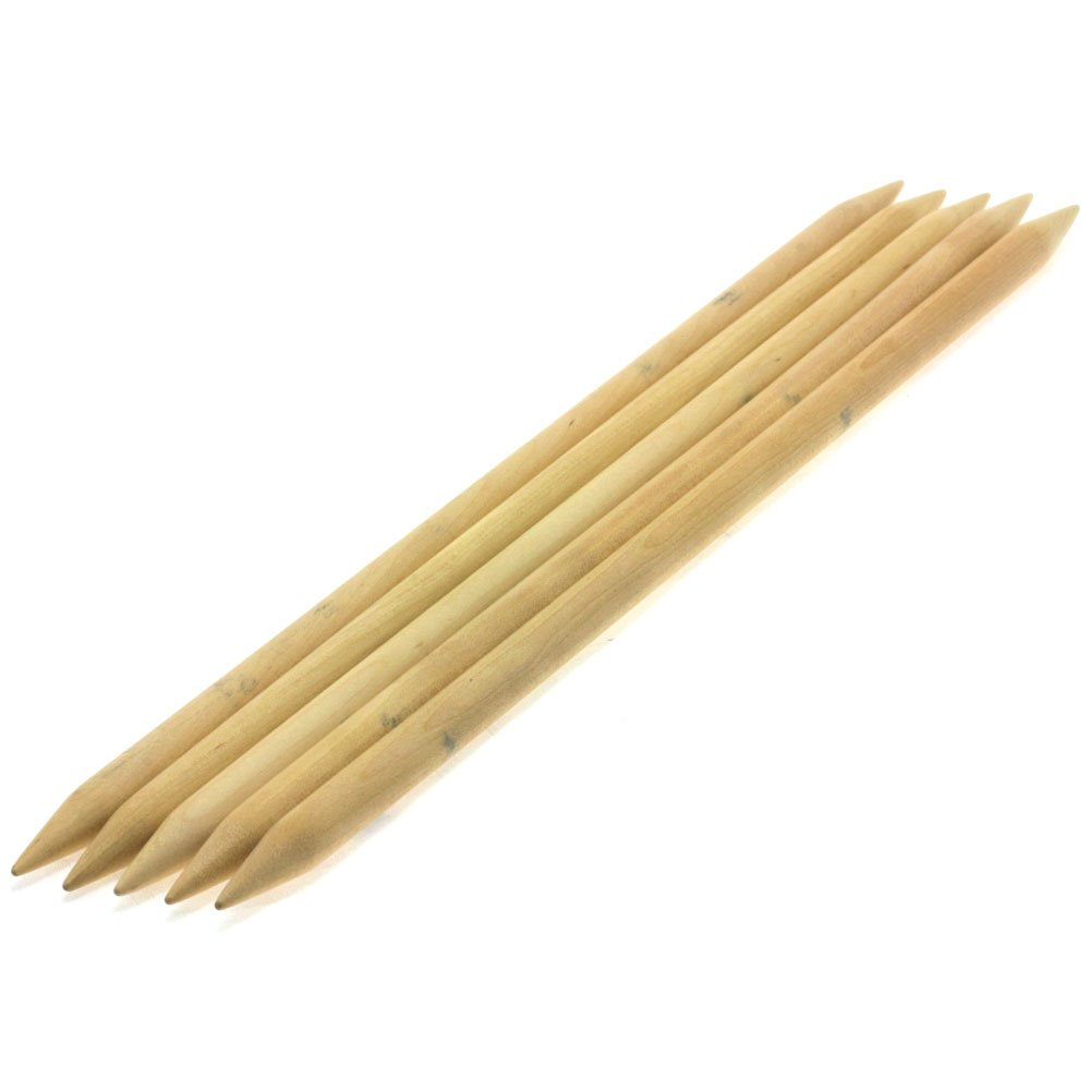 Lana Grossa Sock needles natural wood Big & Easy size 12/40cm