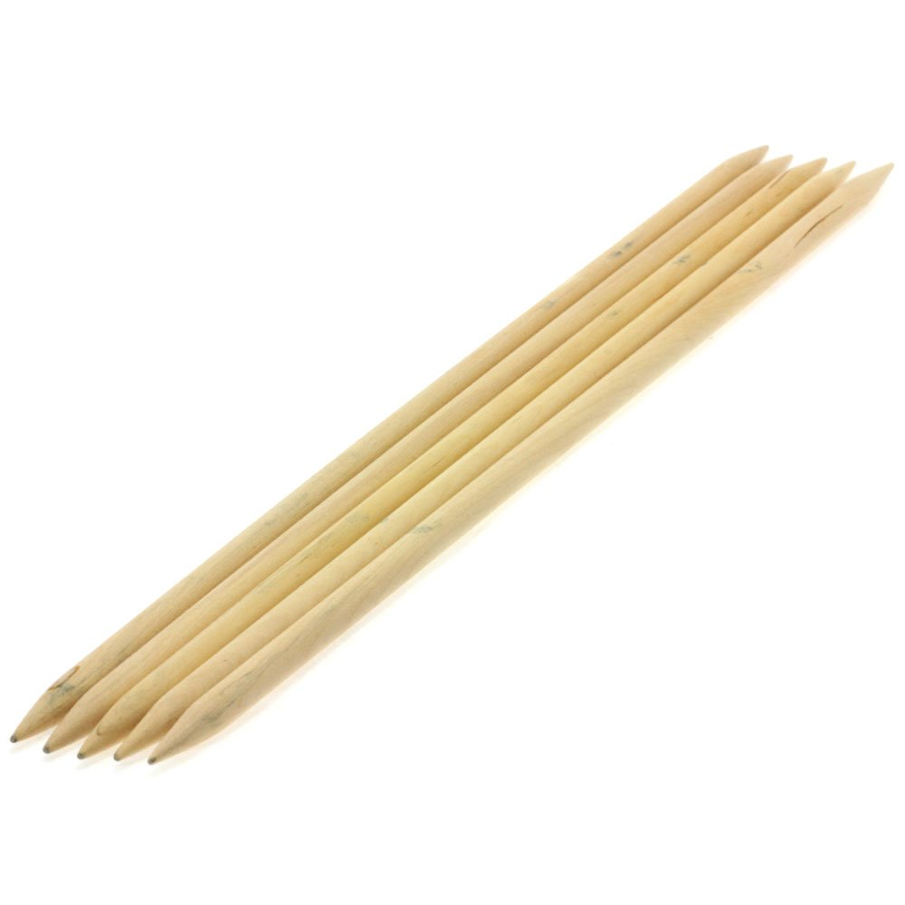 Lana Grossa Sock needles natural wood Big & Easy size 9/40cm